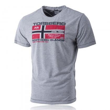Northern Islands T-Shirt grey-melange