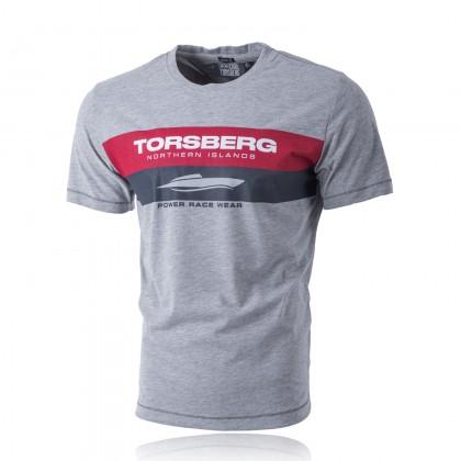 Racing T-Shirt grey-melange