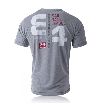 Sail League T-Shirt grey-melange